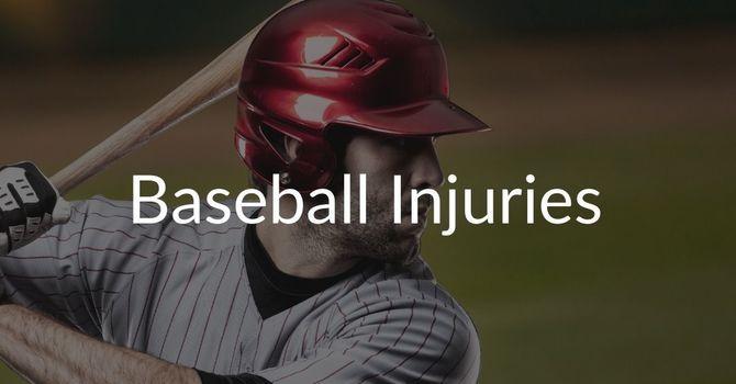 Baseball / Softball Injury